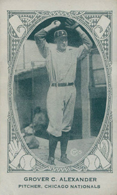 1922 American Caramel--Series of 240 Grover Alexander #4 Baseball Card