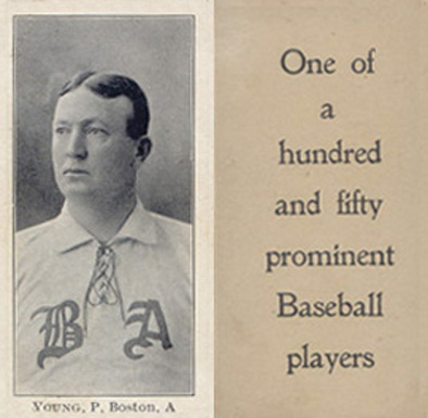 1903 Breisch-Williams (Type 1) Cy Young #159 Baseball Card