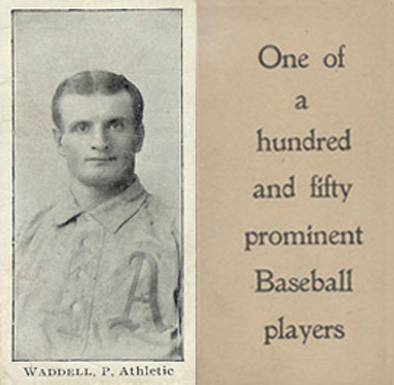 1903 Breisch-Williams (Type 1) Rube Waddell #148 Baseball Card