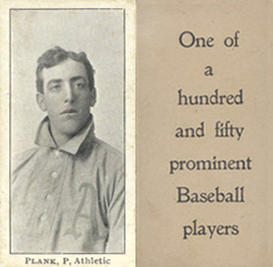 1903 Breisch-Williams (Type 1) Eddie Plank #120 Baseball Card