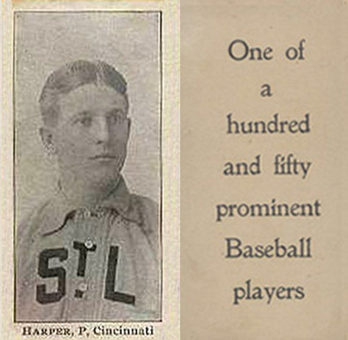 1903 Breisch-Williams (Type 1) Jack Harper #67 Baseball Card