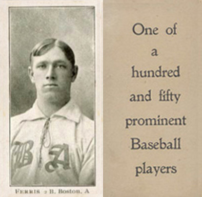 1903 Breisch-Williams (Type 1) Hobe Ferris #51 Baseball Card