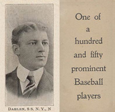 1903 Breisch-Williams (Type 1) Bill Dahlen #30 Baseball Card