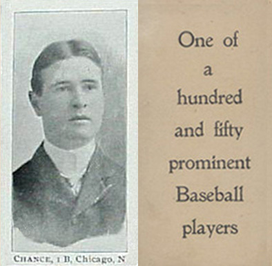 1903 Breisch-Williams (Type 1) Frank Chance #18 Baseball Card