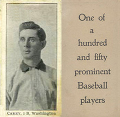 1903 Breisch-Williams (Type 1) Scoops Carey #14 Baseball Card
