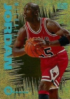 1994 Emotion N-Tense Michael  Jordan #3 Basketball Card