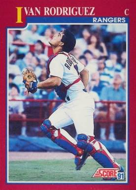 Ivan Rodriguez Hall Of Fame Baseball Cards