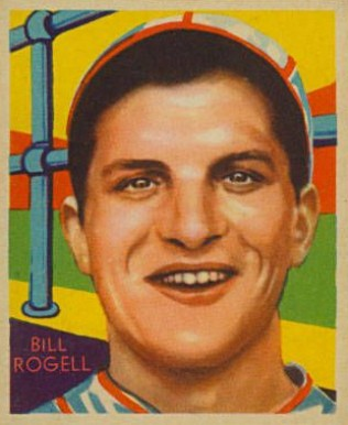1935 Diamond Stars  Bill Rogell #76 Baseball Card