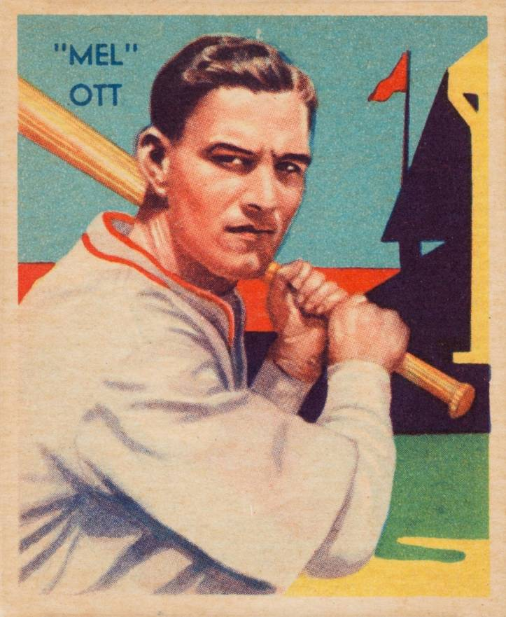 1934 Diamond Stars  Mel Ott #50 Baseball Card