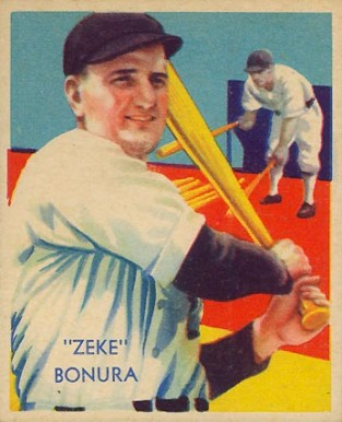 1935 Diamond Stars  Zeke Bonura #65 Baseball Card
