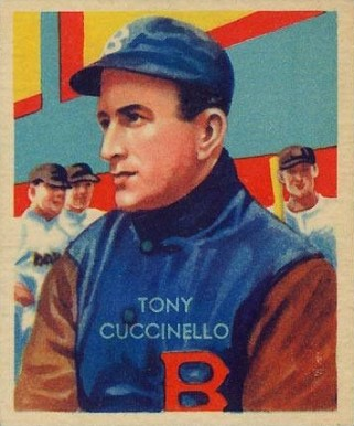 1935 Diamond Stars Tony Cuccinello #55 Baseball Card