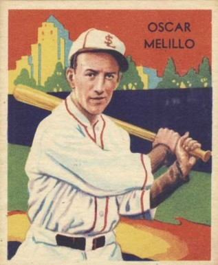 1935 Diamond Stars Oscar Melillo #53 Baseball Card