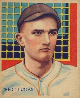 1935 Diamond Stars Red Lucas #46 Baseball Card