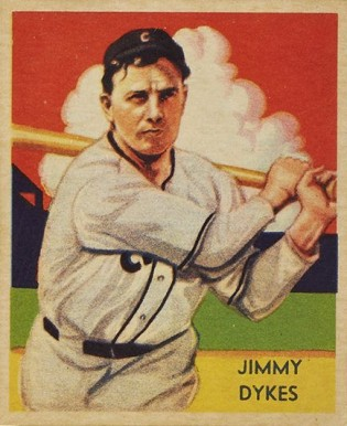 1935 Diamond Stars  Jimmy Dykes #42 Baseball Card