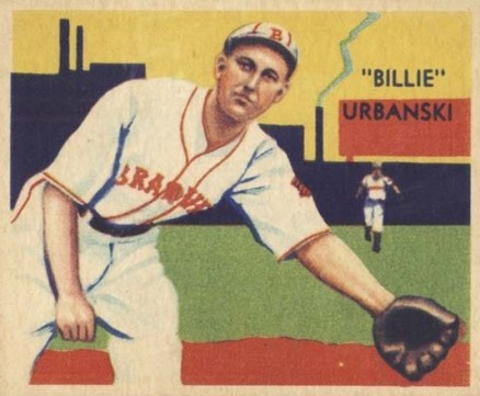 1935 Diamond Stars  Bill Urbanski #37 Baseball Card