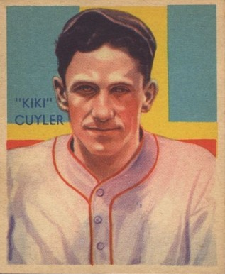 1935 Diamond Stars  Kiki Cuyler #31 Baseball Card