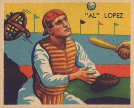 1935 Diamond Stars  Al Lopez #28 Baseball Card