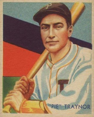 1935 Diamond Stars  Pie Traynor #27 Baseball Card