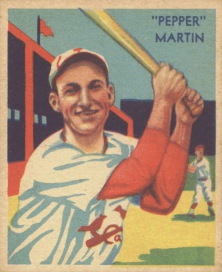 1935 Diamond Stars Pepper Martin #26 Baseball Card