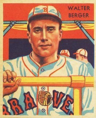 1935 Diamond Stars  Walter Berger #25 Baseball Card