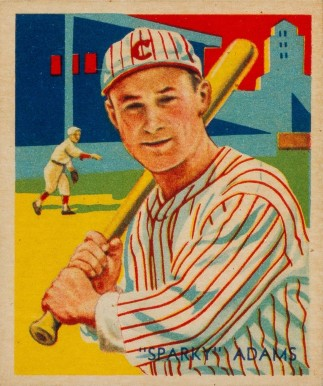 1935 Diamond Stars  Sparky Adams #24 Baseball Card