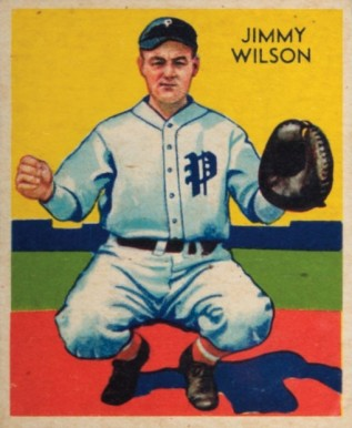 1934 Diamond Stars Jimmy Wilson #22 Baseball Card