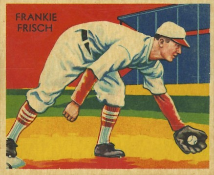 1935 Diamond Stars  Frankie Frisch #17 Baseball Card