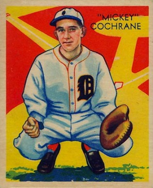 1935 Diamond Stars  Mickey Cochrane #9 Baseball Card