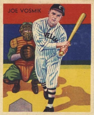 1935 Diamond Stars Joe Vosmik #8 Baseball Card