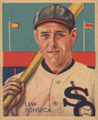 1935 Diamond Stars Lew Fonseca #7 Baseball Card