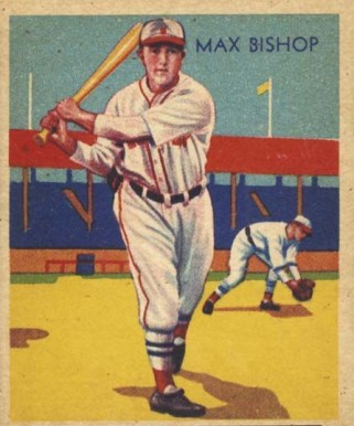 1935 Diamond Stars  Max Bishop #6 Baseball Card