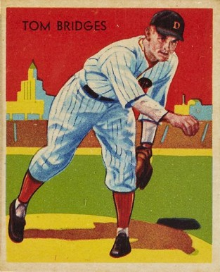1935 Diamond Stars Tommy Bridges #5 Baseball Card