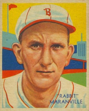 1935 Diamond Stars  Rabbit Maranville #3 Baseball Card