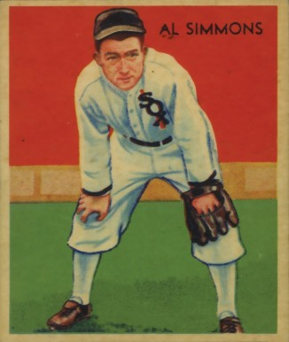 1934 Diamond Stars Al Simmons #2 Baseball Card
