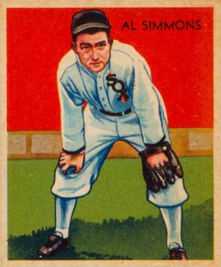 1935 Diamond Stars  Al Simmons #2 Baseball Card