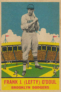 1933 DeLong Lefty O'Doul #10 Baseball Card