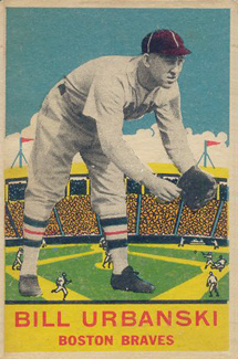 1933 DeLong Bill Urbanski #9 Baseball Card