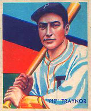 1935 Diamond Stars  Pie Traynor #99 Baseball Card