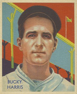 1935 Diamond Stars Bucky Harris #91 Baseball Card
