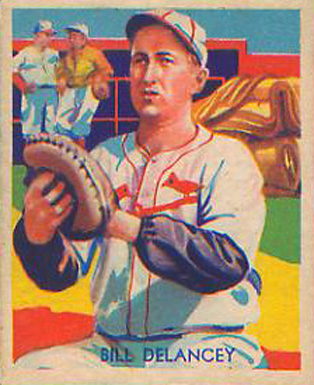 1935 Diamond Stars  Bill DeLancey #81 Baseball Card