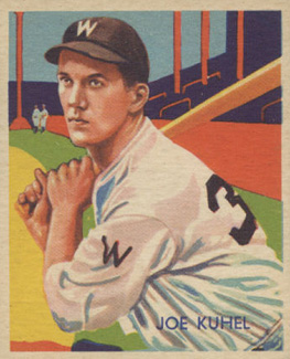 1935 Diamond Stars  Joe Kuhel #78 Baseball Card