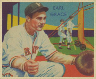 1935 Diamond Stars Earl Grace #69 Baseball Card