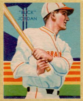 1935 Diamond Stars Buck Jordan #49 Baseball Card