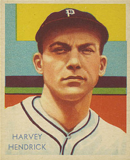 1935 Diamond Stars  Harvey Hendrick #41 Baseball Card