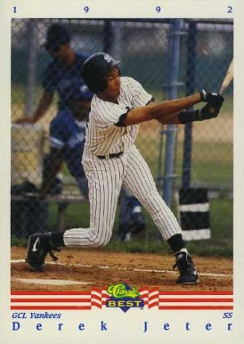 1992 Classic Best Derek Jeter #402 Baseball Card