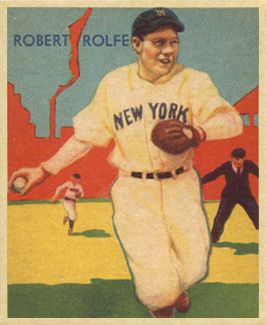 1935 Diamond Stars  Red Rolfe #29 Baseball Card