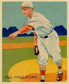1935 Diamond Stars  Bill Hallahan #23 Baseball Card