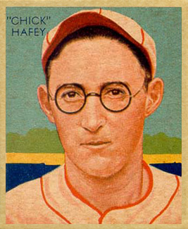 1935 Diamond Stars Chick Hafey #18 Baseball Card