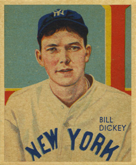 1935 Diamond Stars Bill Dickey #11 Baseball Card