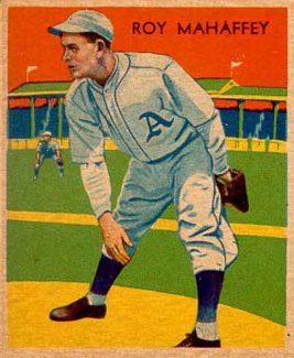1935 Diamond Stars  Roy Mahaffey #10 Baseball Card